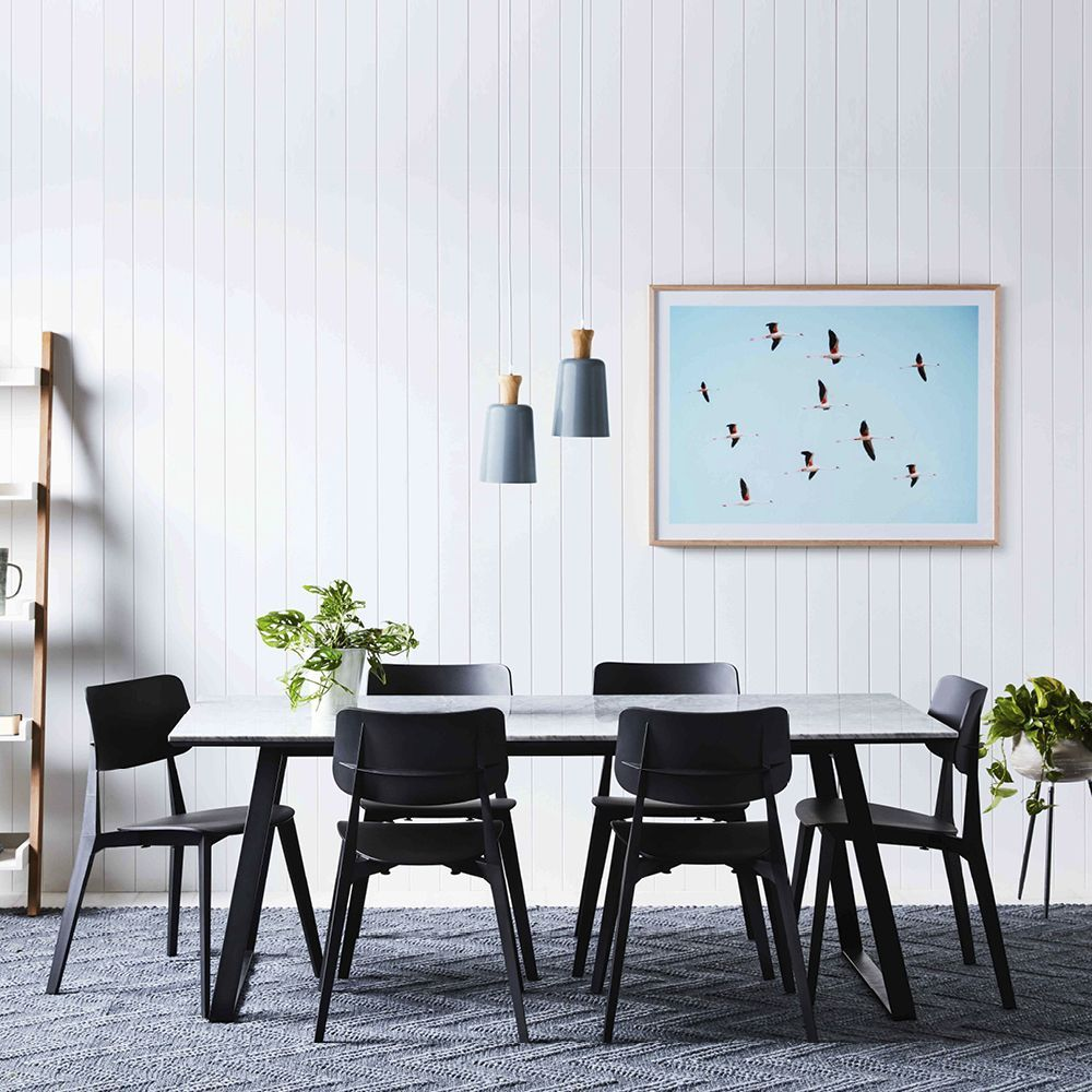 Toou Stellar Side Chair Interior Design Dining Room Marble Table Top Dining Table Marble