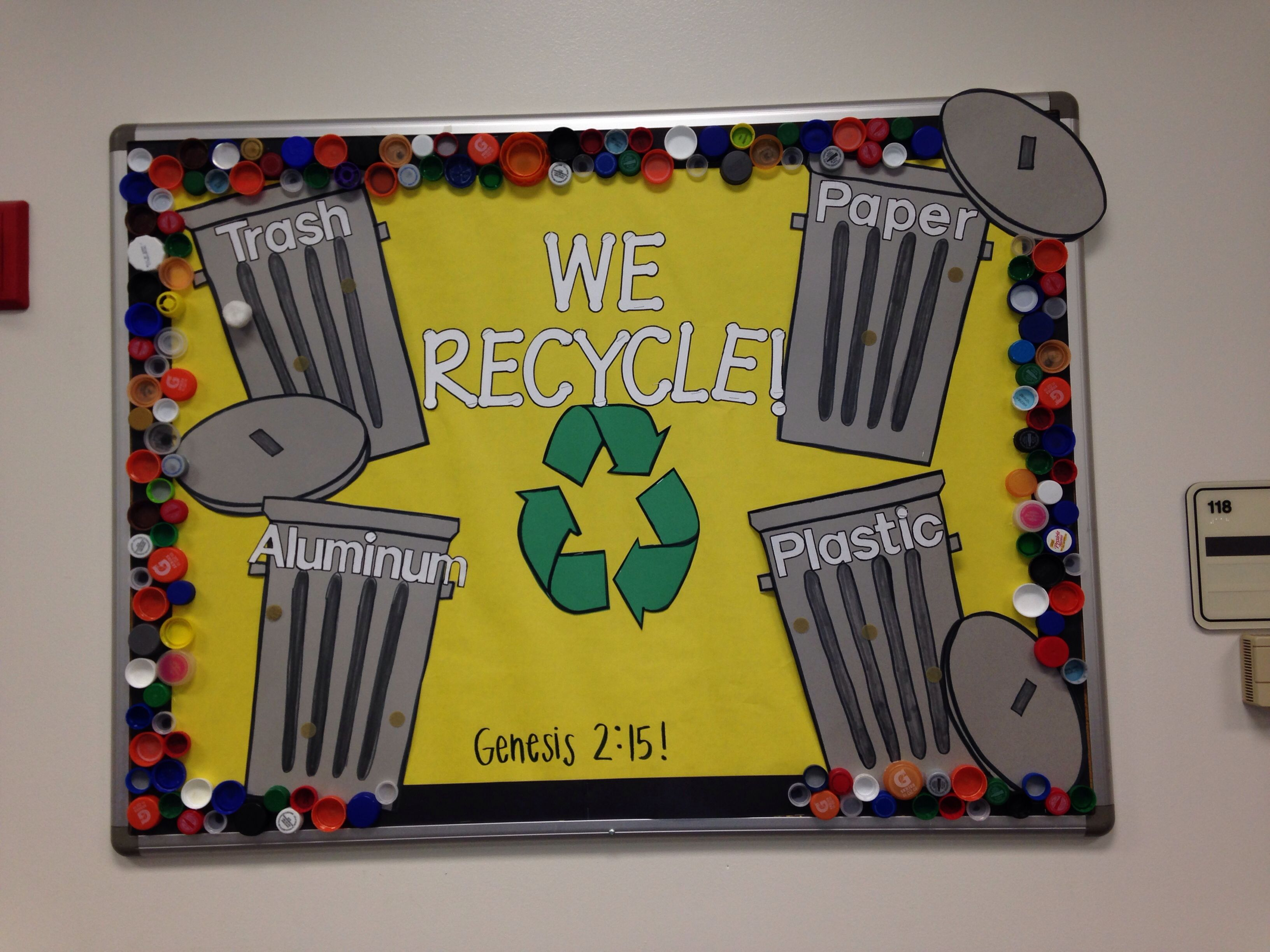 Recycle Bulletin Board