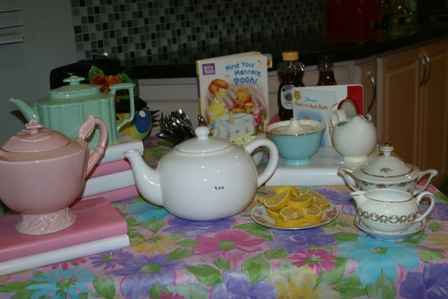 Storybook Tea Party Baby Shower Party Ideas Tea Party Baby Shower