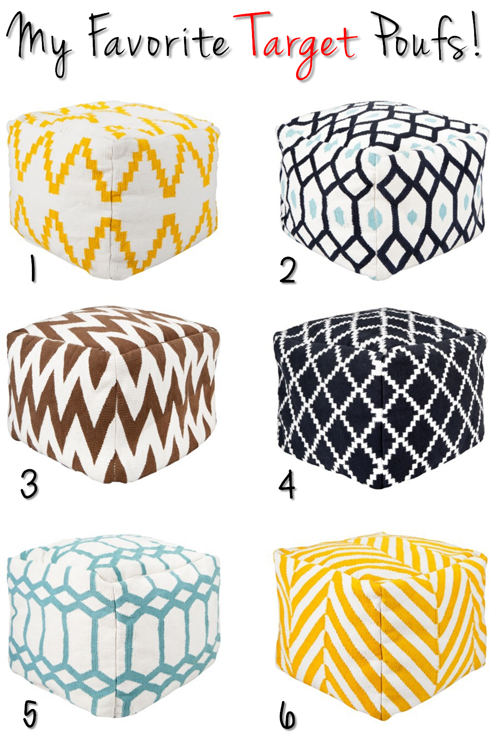 target poufs.png 188×18,18 pixels | Home Decor I love | Pinterest ...