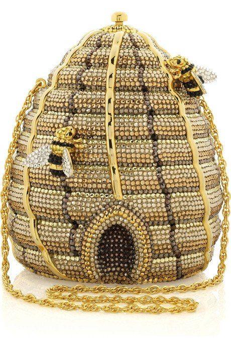 VIDA Statement Clutch - Bee hive by VIDA th1b4rl