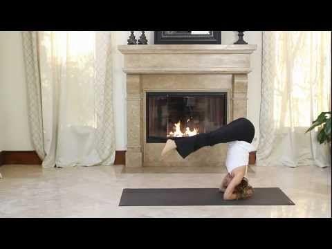 Headstand Yoga Pose (Sirsasana) with Holly Mosier - YouTube