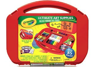 Keep Kids Creative with a Crayola Ultimate Art Supply Case... One lucky reader will win one at Life With Two Boys during Keeping Kids Creative!