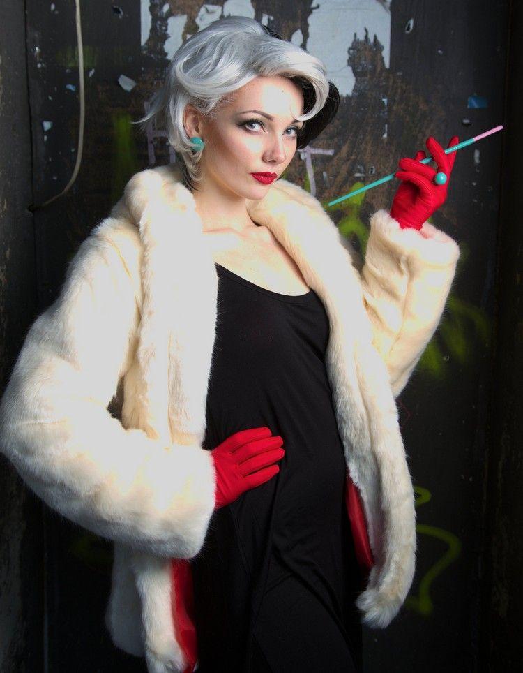 Elegantes Cruella De Vil Kostum Selber Zusammenstellen Kostume