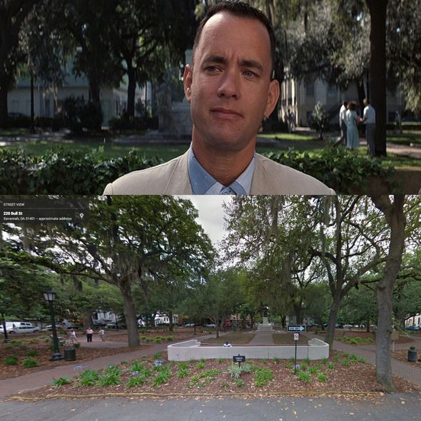 Forrest Savannah Gump Locations