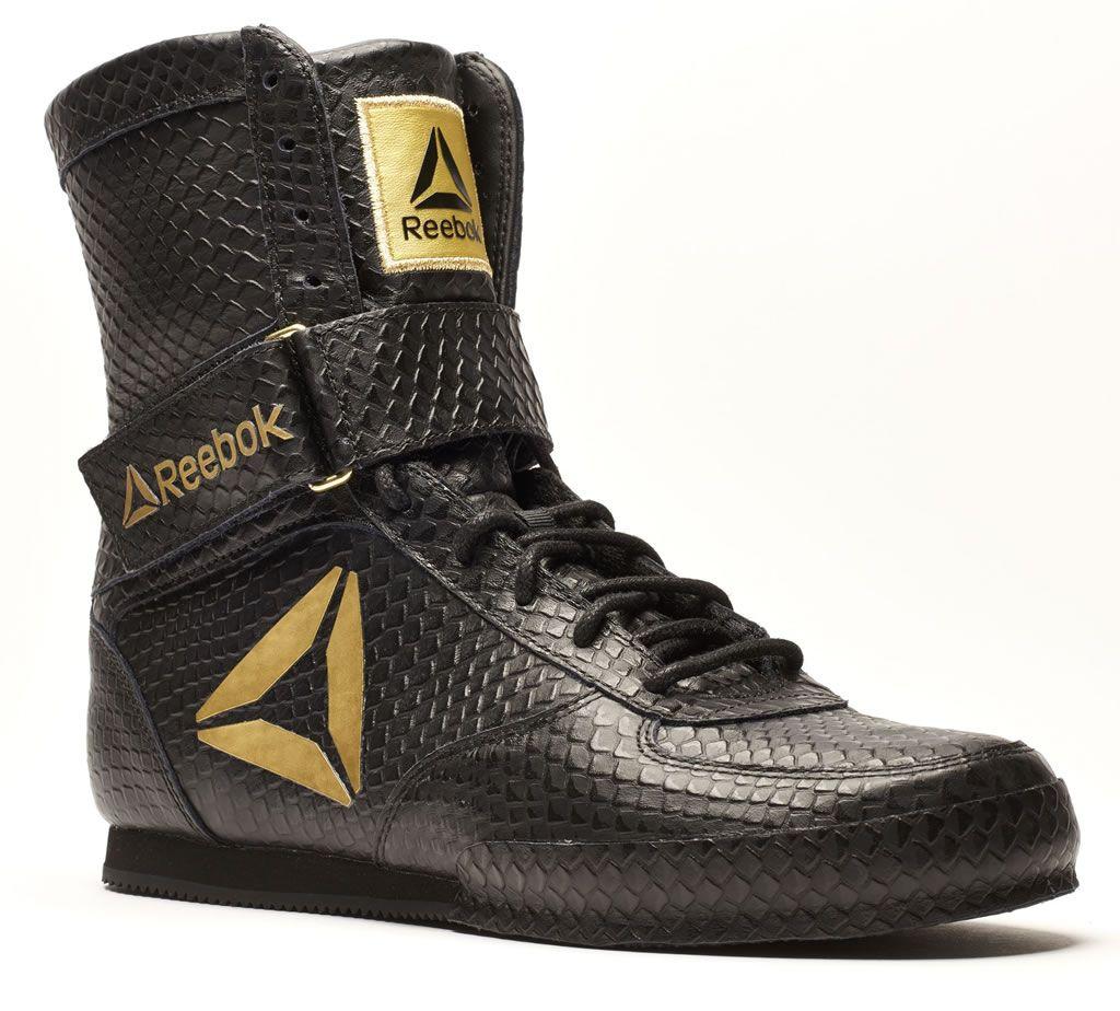 Black Reebok Boxing Boot Legacy Ltd Boxing Boots Combat Shoes Boxing Shoes