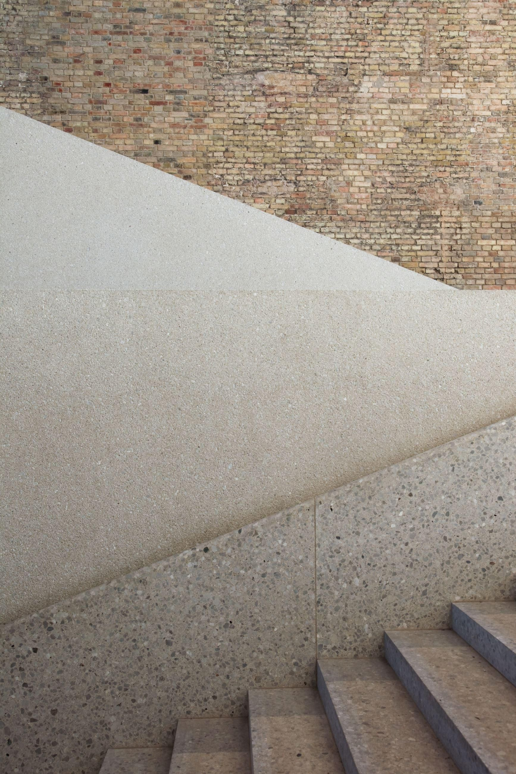 Innenarchitektur Museum Berlin Neues Museum David Chipperfield Architects Material Texture