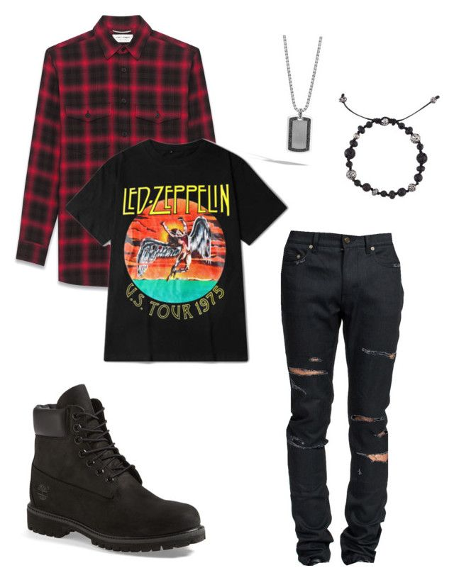 """""""oliver"""" by kathrynisneckdeep ❤ liked on Polyvore featuring John Hardy, Yves Saint Laurent, Timberland, M. Cohen, men's fashion and menswear"""