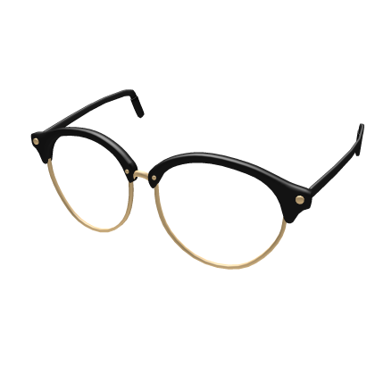 Customize Your Avatar With The Vintage Glasses And Millions Of Other Items Mix Match This Face Accessory With Other Vintage Glasses Black Hair Roblox Roblox