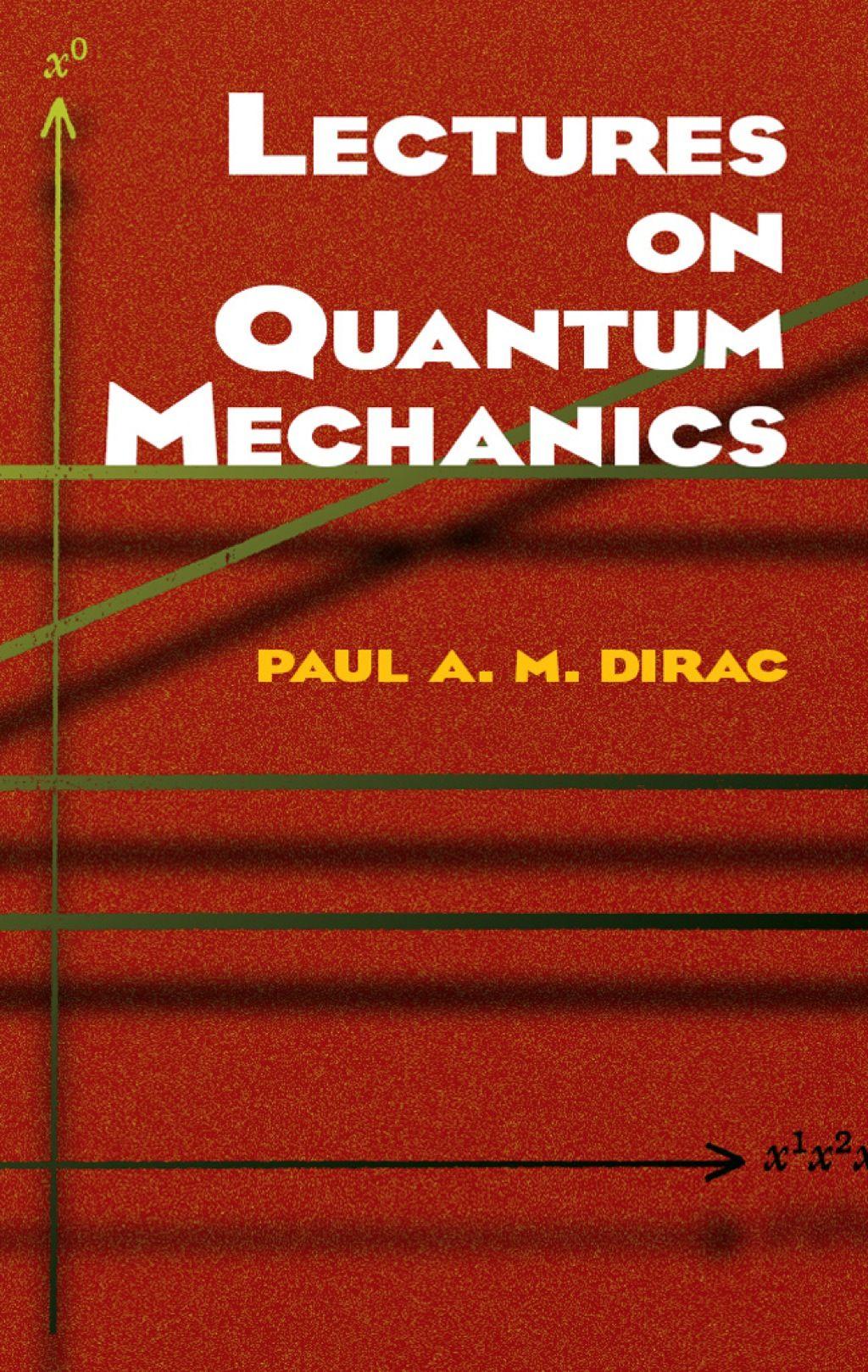 Lectures On Quantum Mechanics Ebook Quantum Mechanics Physics