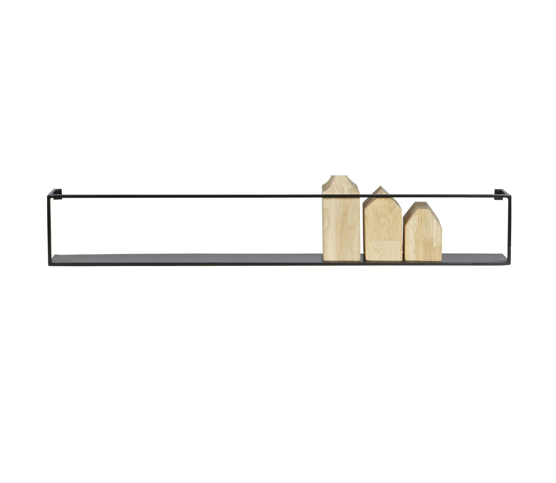 Wandplank Zwart Metaal.Voorbeeld Van Meert Metalen Wandplank Zwart 100 Cm Woood Beer