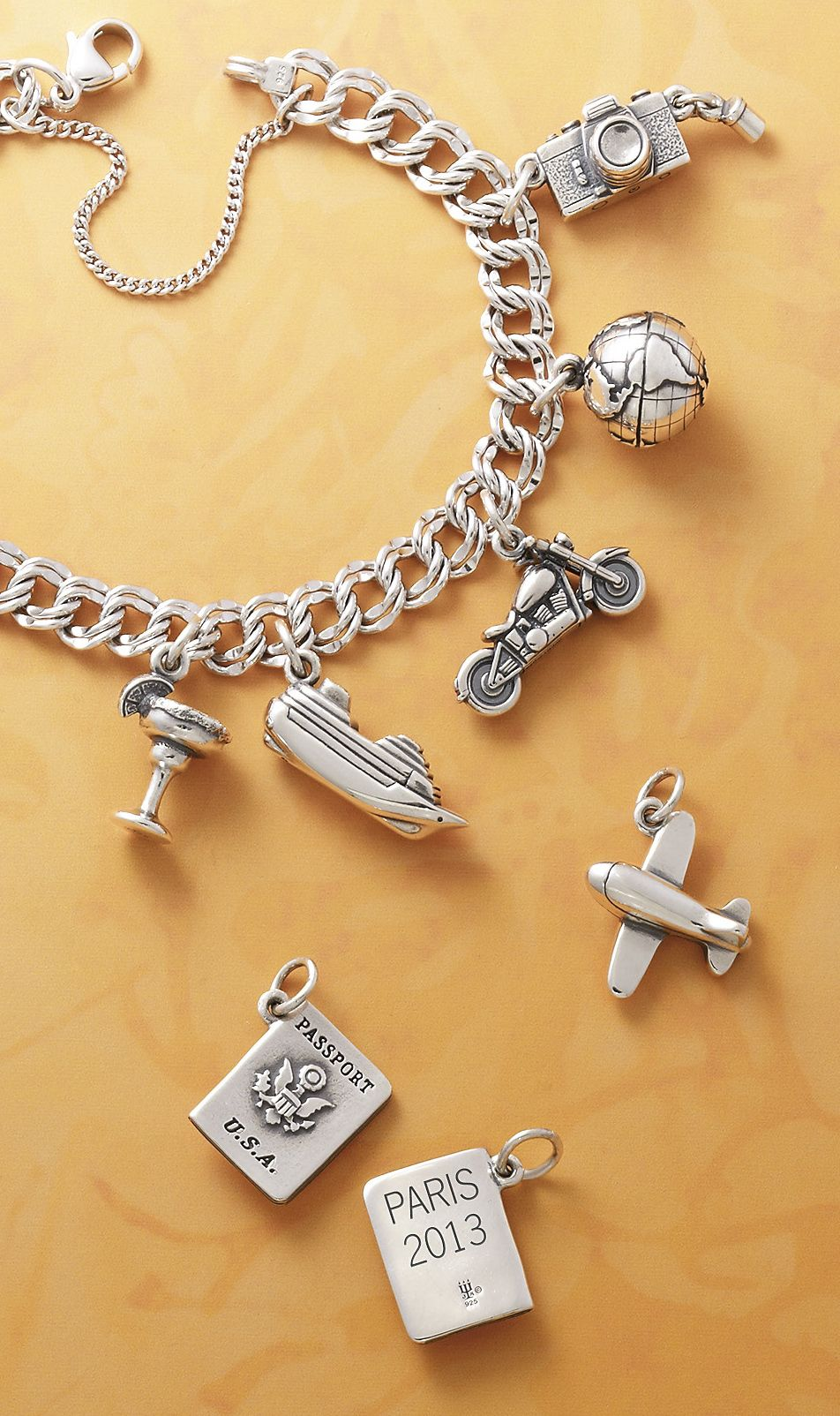 628fac690 Travel Charms from James Avery #charms | Summer Inspiration ...