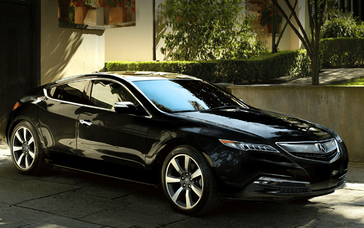 Download Wallpapers Acura Ilx Cars Luxury Cars Black Ilx - Acura ilx 2018 black