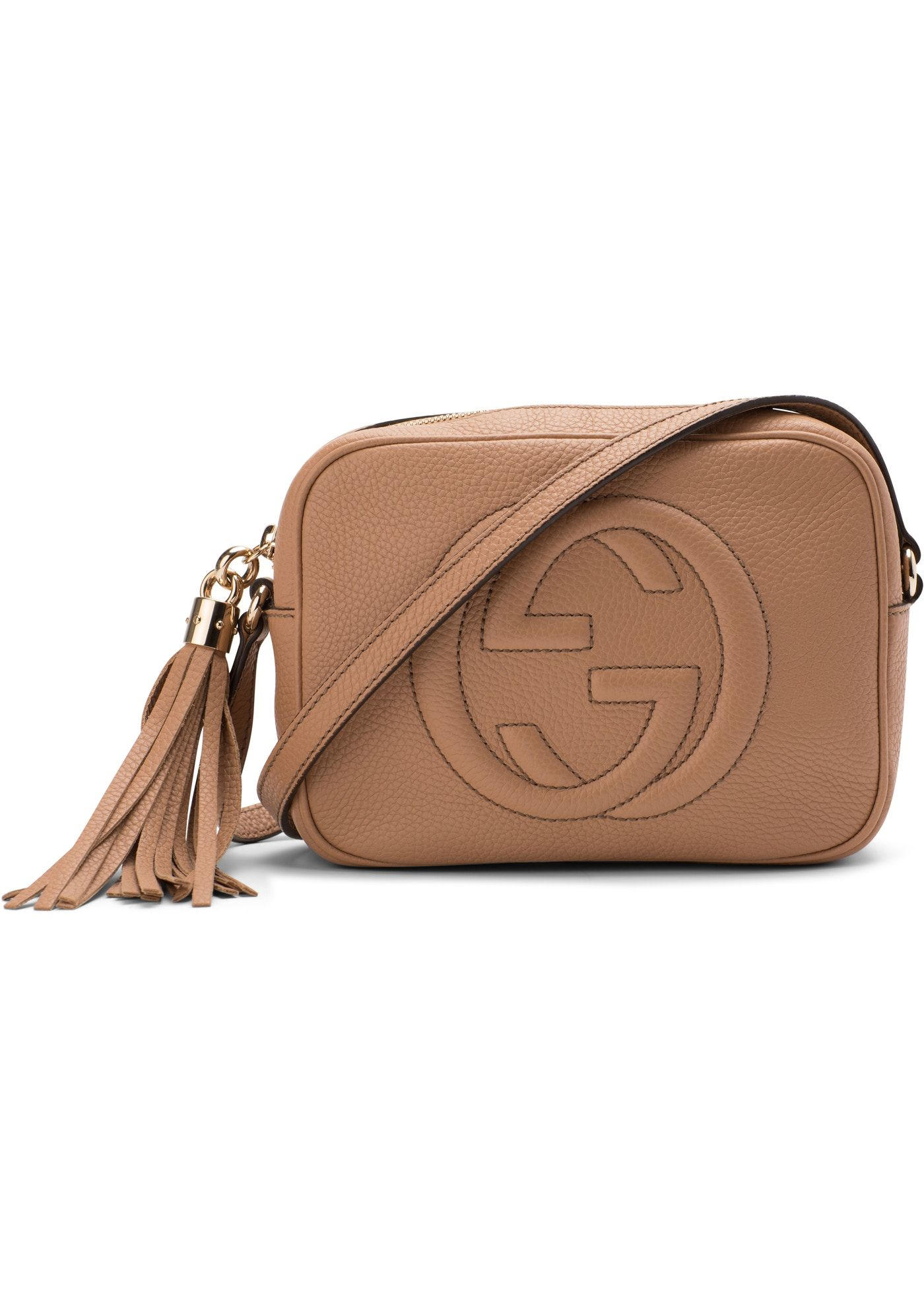 a8972e70 Check out the Gucci Disco Soho GG Interlocking GG Logo Small Rose Beige  available on StockX