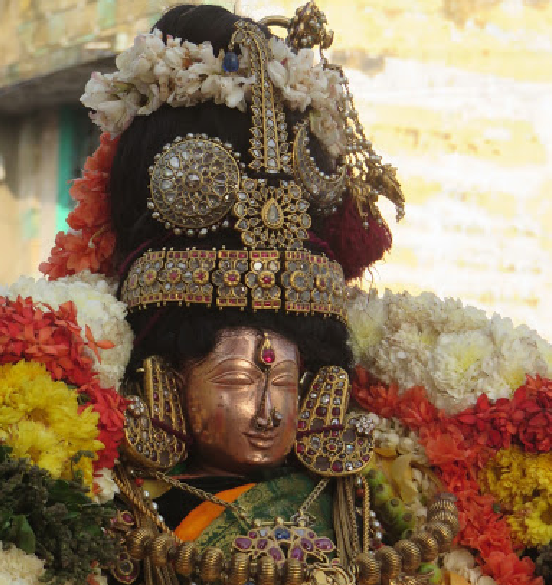 Sri Andal Neerattu Utsavam Commences At Kanchi Sri