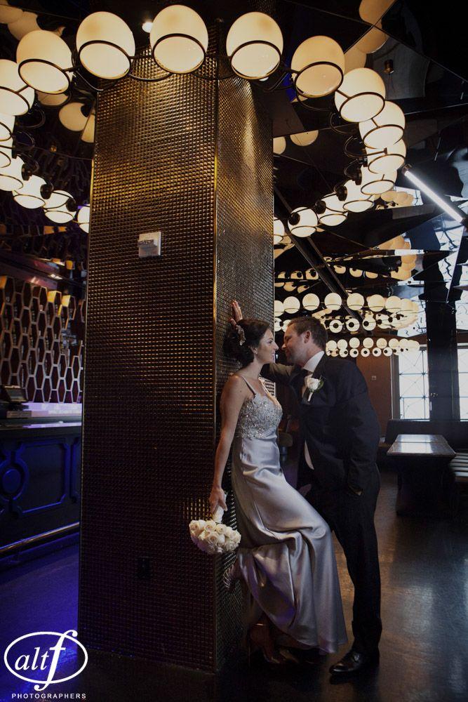 Wedding Photo In Vanity Nightclub Las Vegas Planner Andrea Eppolito Events Location Hard Rock Hotel Photography By Www Altf