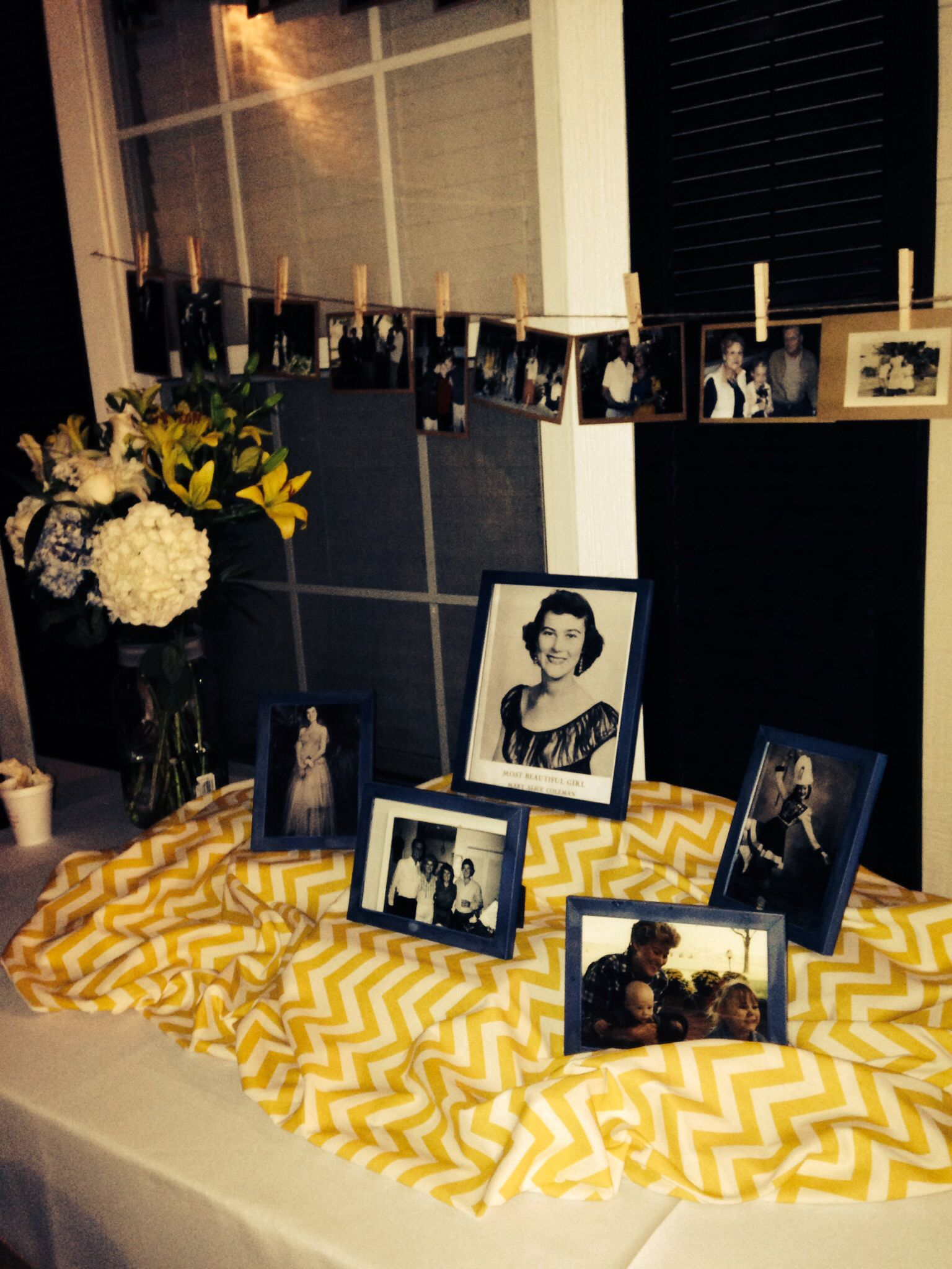 Memory Table Ideas class reunion memorial ideas 5 ways to honor deceased classmates Birthdays