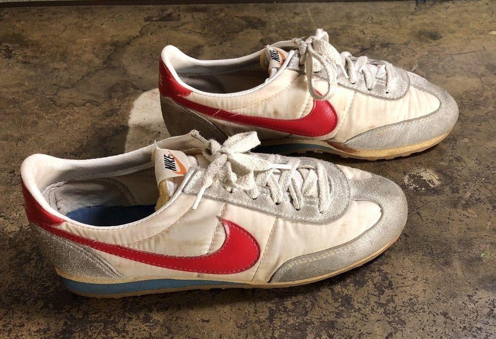 Nike Roadrunner Vintage 1979 70s Sneakers Shoes Rare Red