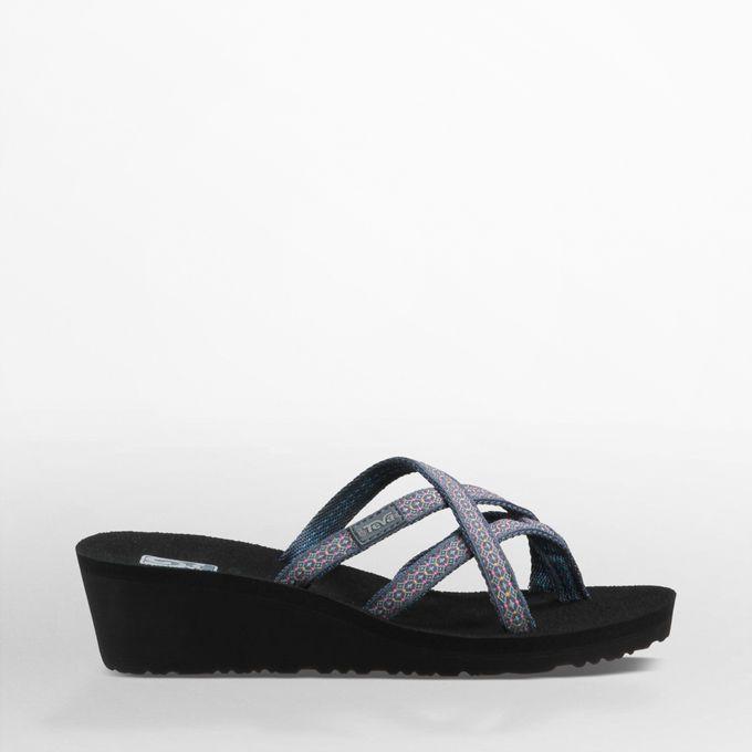 TEVA Mush Mandalyn Wedge Ola 2 $30.00 model 1000099 color black or rumi  blue, fleur. Womens Flip FlopsCute ...