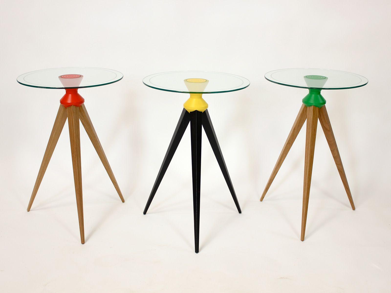 The Orbital Tripod Table