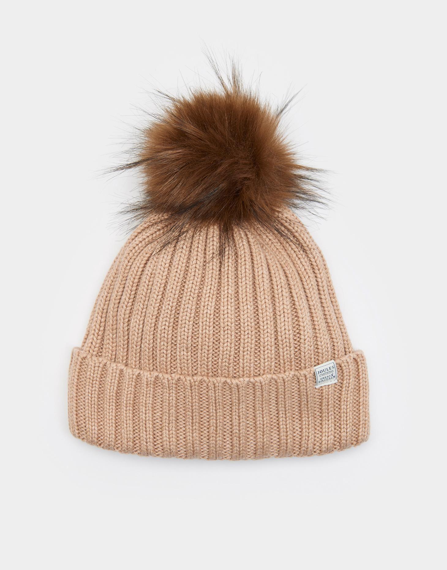 53dac5495e6 Pop-a-pom Oat Bobble Hat