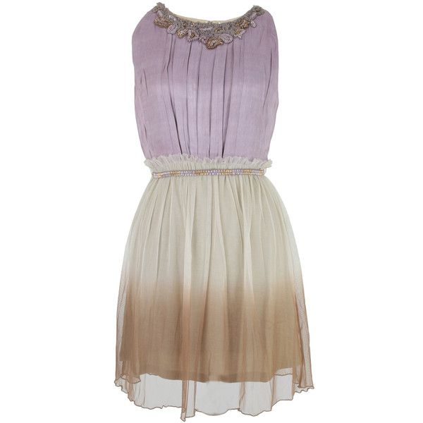 Bl^nk London Gladra Grape Dress ($250) ❤ liked on Polyvore