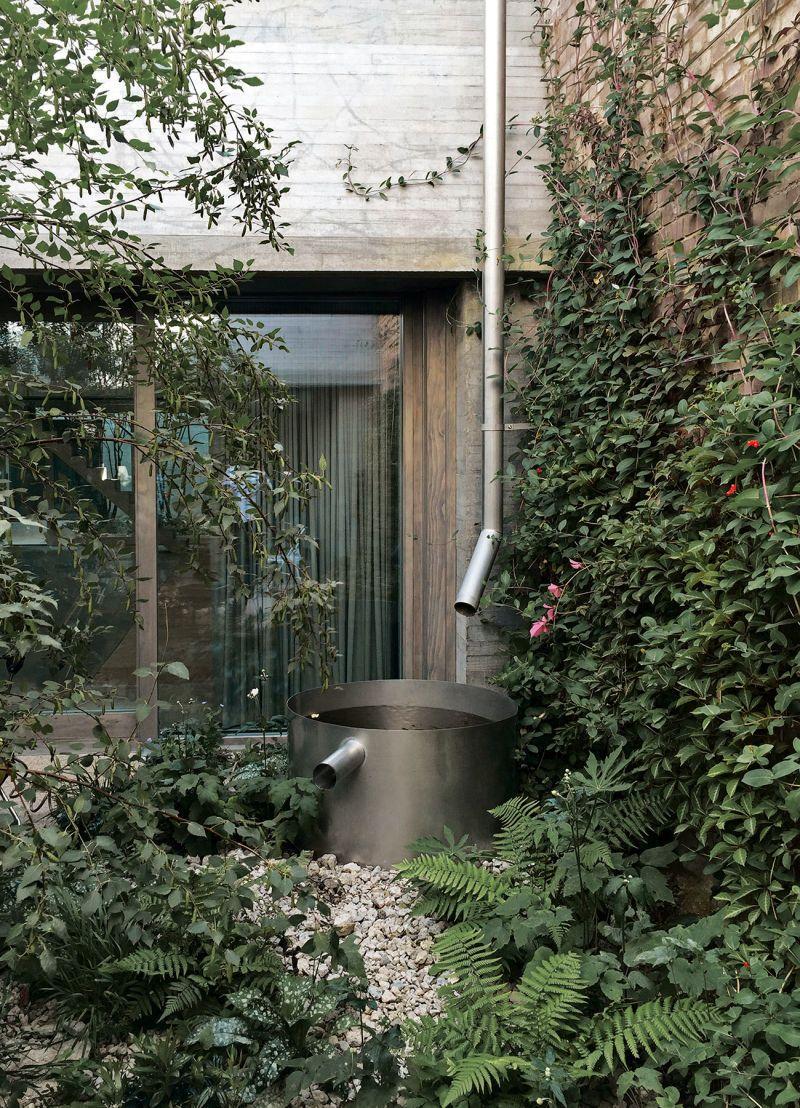 Juergen Teller Studio In London Gartendach Landschaftsdesign Landschaftsarchitekt