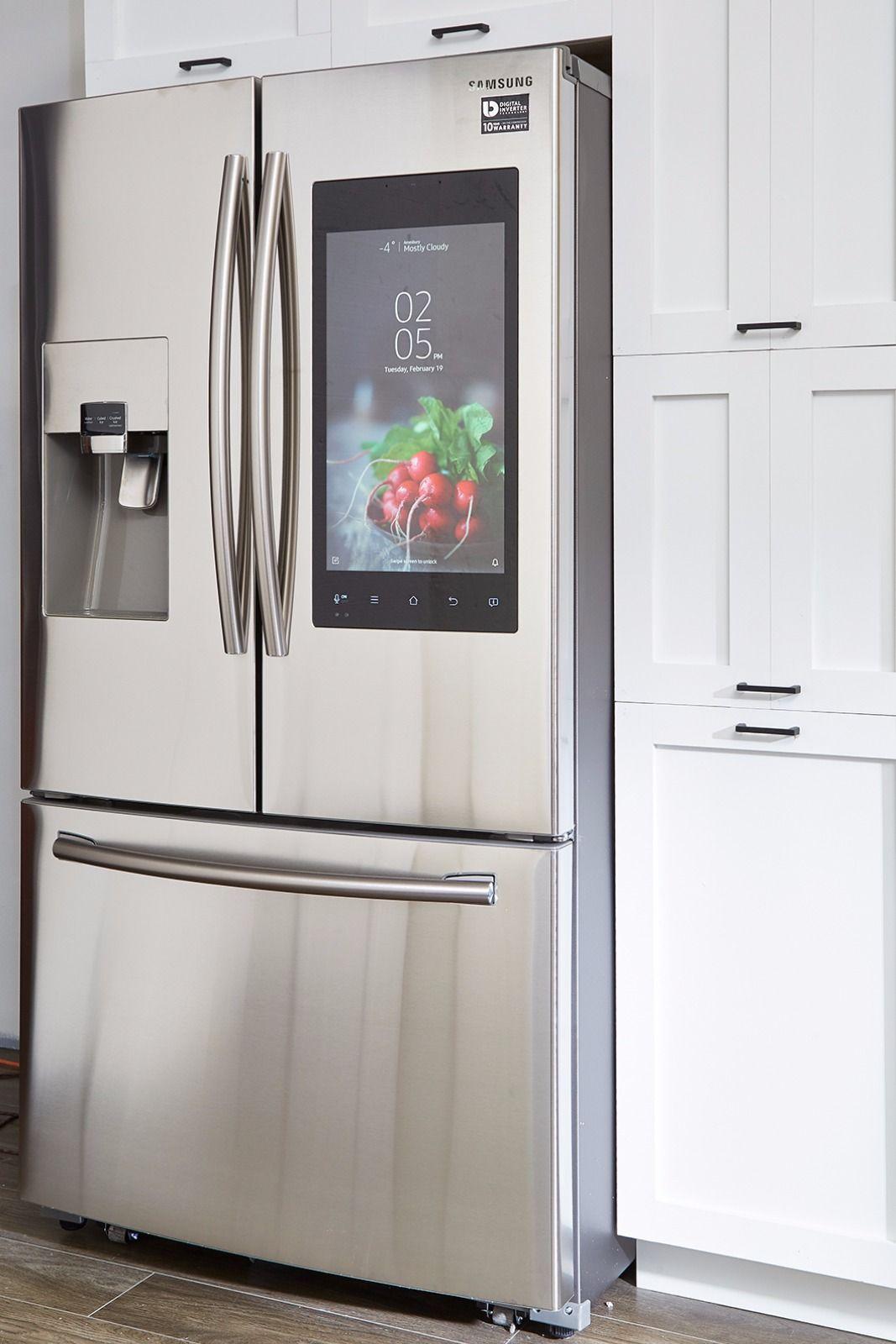 Samsung 24 Cu Ft Capacity 3 Door French Door Refrigerator With