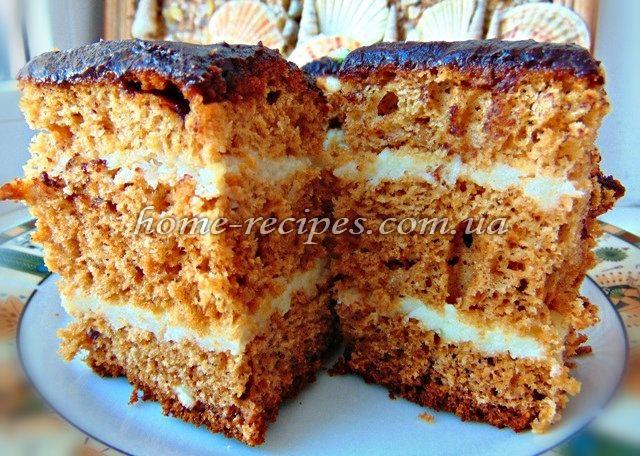 Простий медівник. Рецепт з фото | Sweet cakes, Baking ...