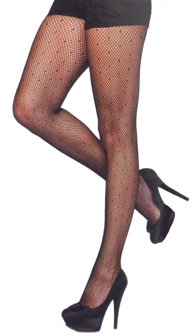 b45283dbe70 Starlet dotted fishnet stockings in 2019