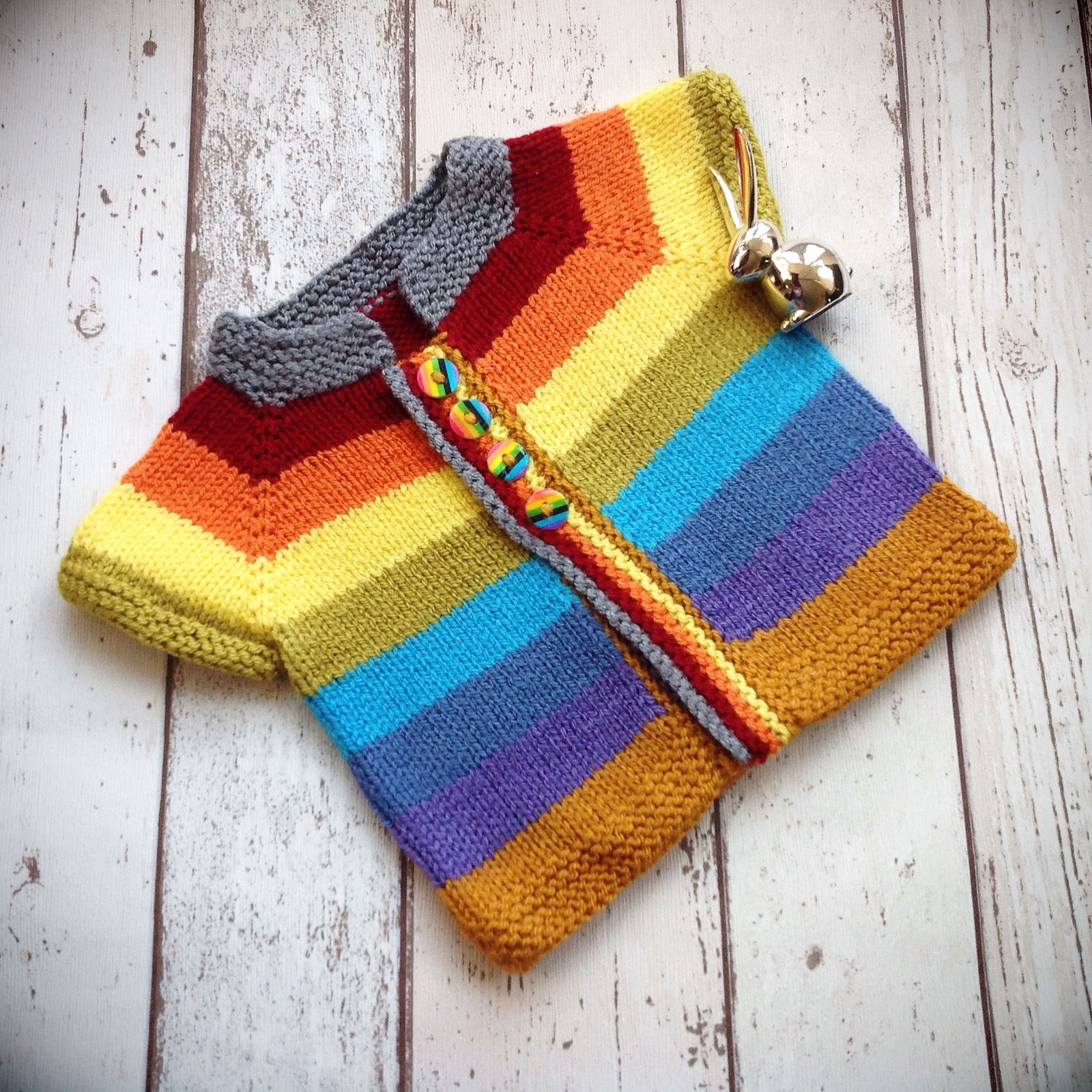Ravelry: Fuss Free Baby cardigan by Louise Tilbrook | Knitting ...