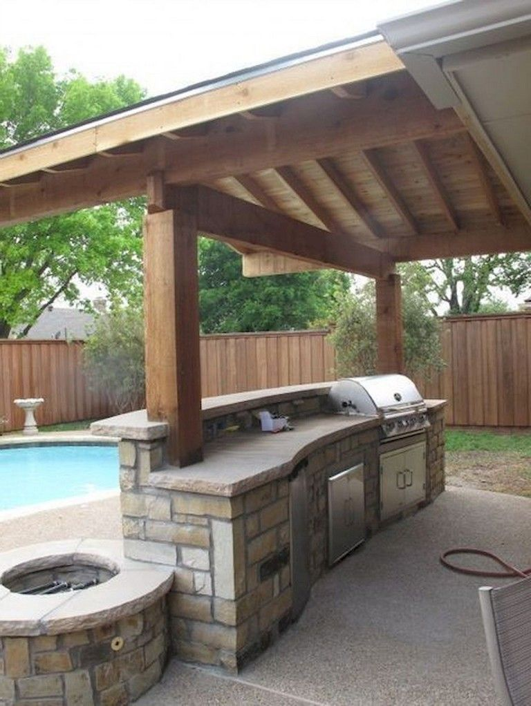 54 Comfortable Backyard Gazebo Design Ideas With Images Outdoor Kitchen Plans Modern Outdoor Kitchen Outdoor Kitchen Design