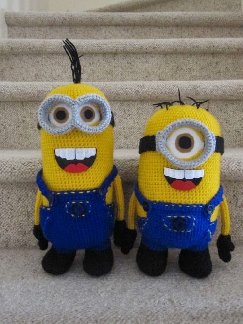 Minion crochet pattern really cute stuff pinterest minion minion crochet pattern dt1010fo