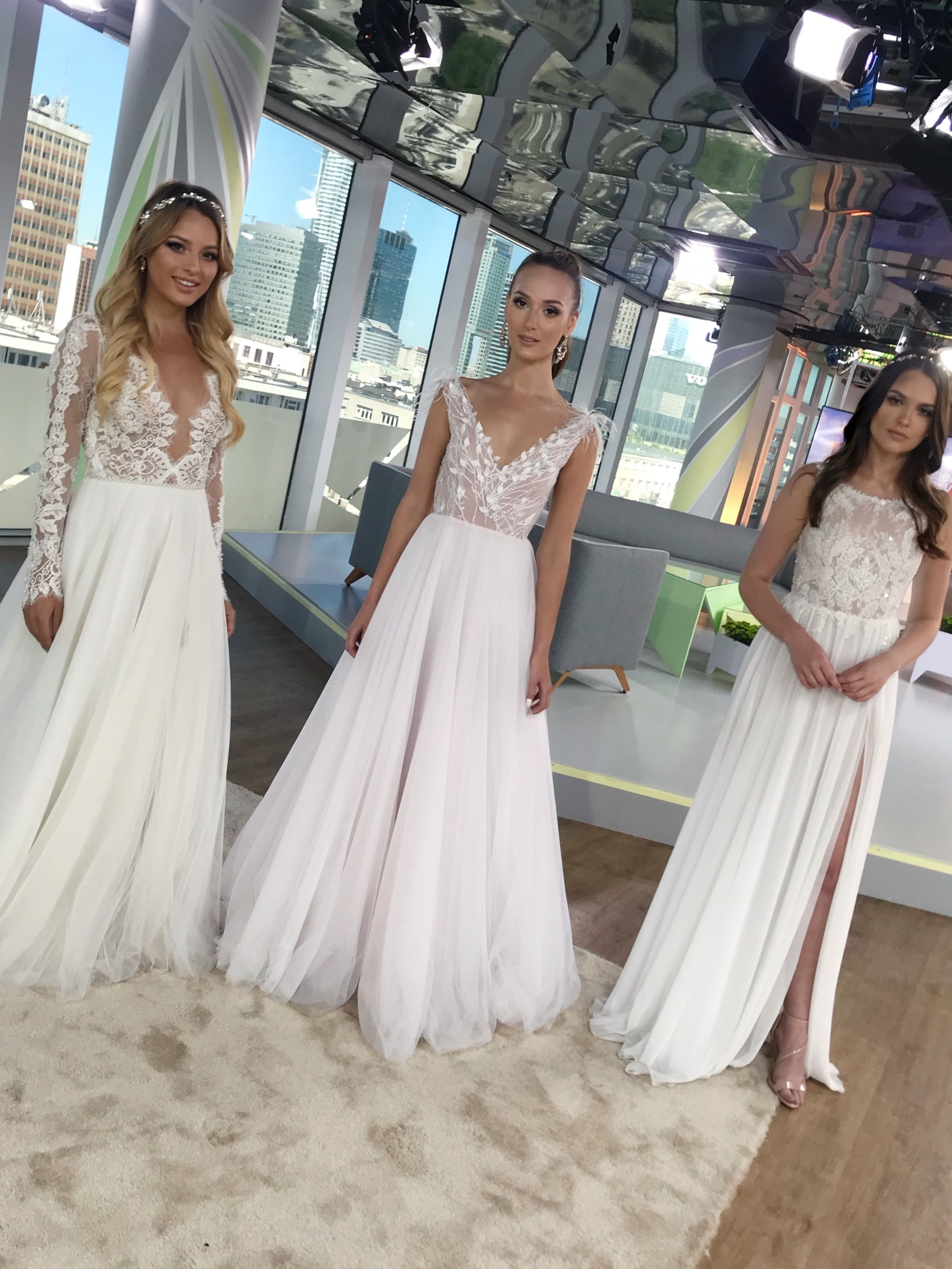 Dzień Dobry Tvn Ddtvn Polish Tv Wedding Dress Tom Sebastien Bridal