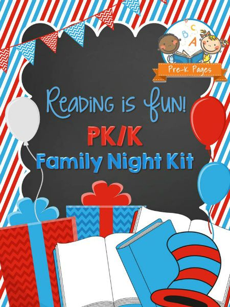 Family Literacy Night Flyer Template Bedtime Stories Solid - Family reading night flyer template