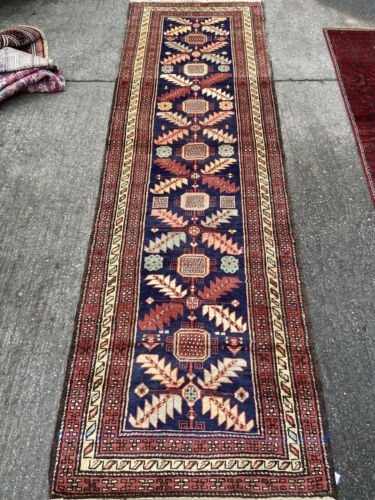 Antique Caucasian Runner Hand Made Kazak Carpet Rug 10ft X 3ft Cleaned Ebay In 2020 Rugs On Carpet Kazak Carpet Rugs