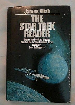 The Star Trek Reader by James Blish HCDJ Vintage 1972 BCE 21 Novelized Episodes