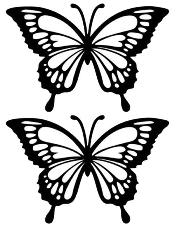 stained-glass-butterfly-templatejpg 612×792 pixels DIY  Crafts