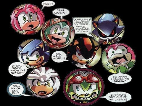 Sth 195 Hedgehog Havoc Part 1 Comic Drama Anime Drawing Styles Create A Comic Silver The Hedgehog