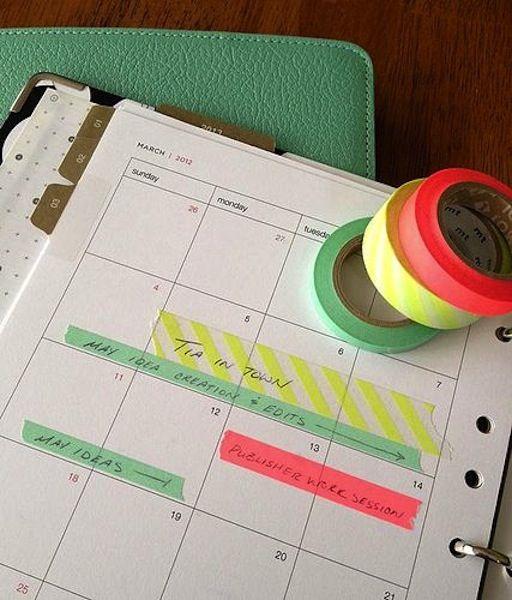 50 Washi Tape Ideas | My Chic Life @Krista McNamara McNamara McNamara McNamara McNamara Rosales - You LIKE?