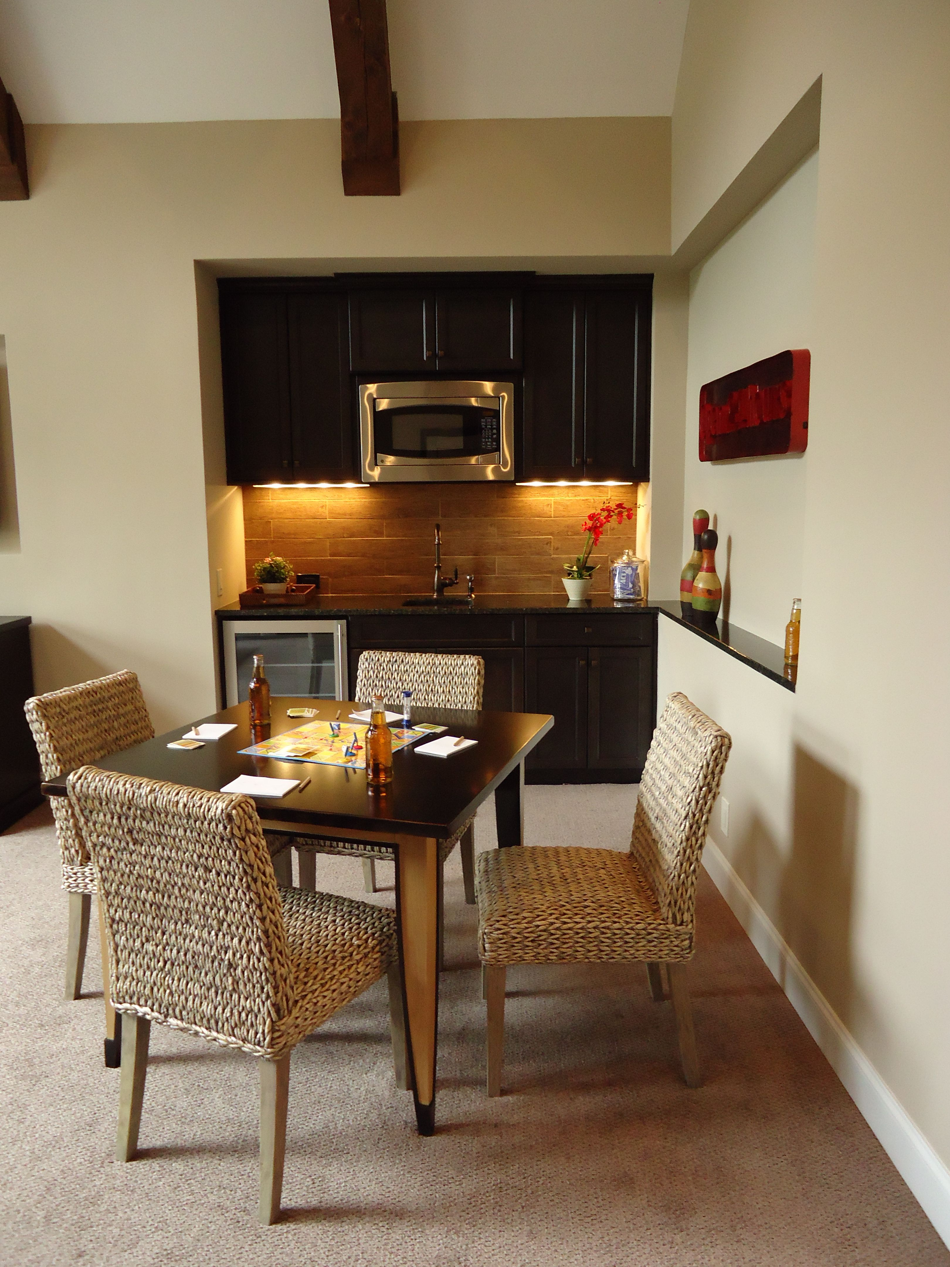 Want To Put A Microwave In Club Room Wet Bar