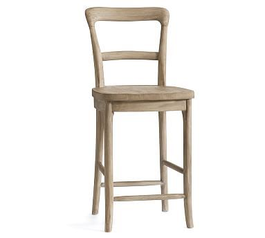 Wondrous Cline Bar Stool Counter Height Wood Weathered Gray In 2019 Ncnpc Chair Design For Home Ncnpcorg