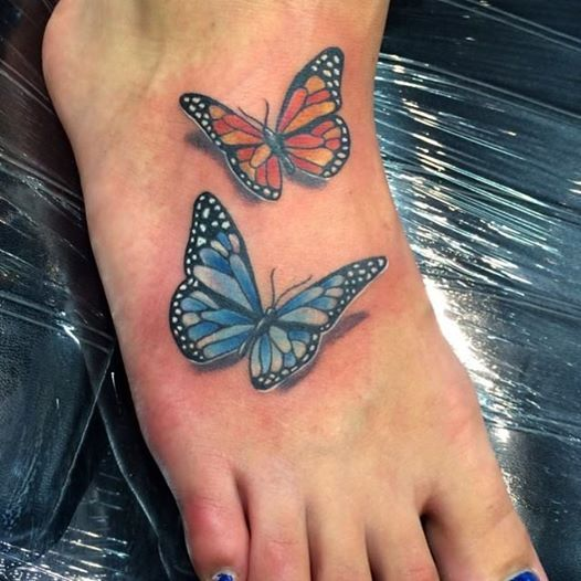 Photo: 16 beautiful butterfly tattoos are here http://bit.ly/1kYH3Ib