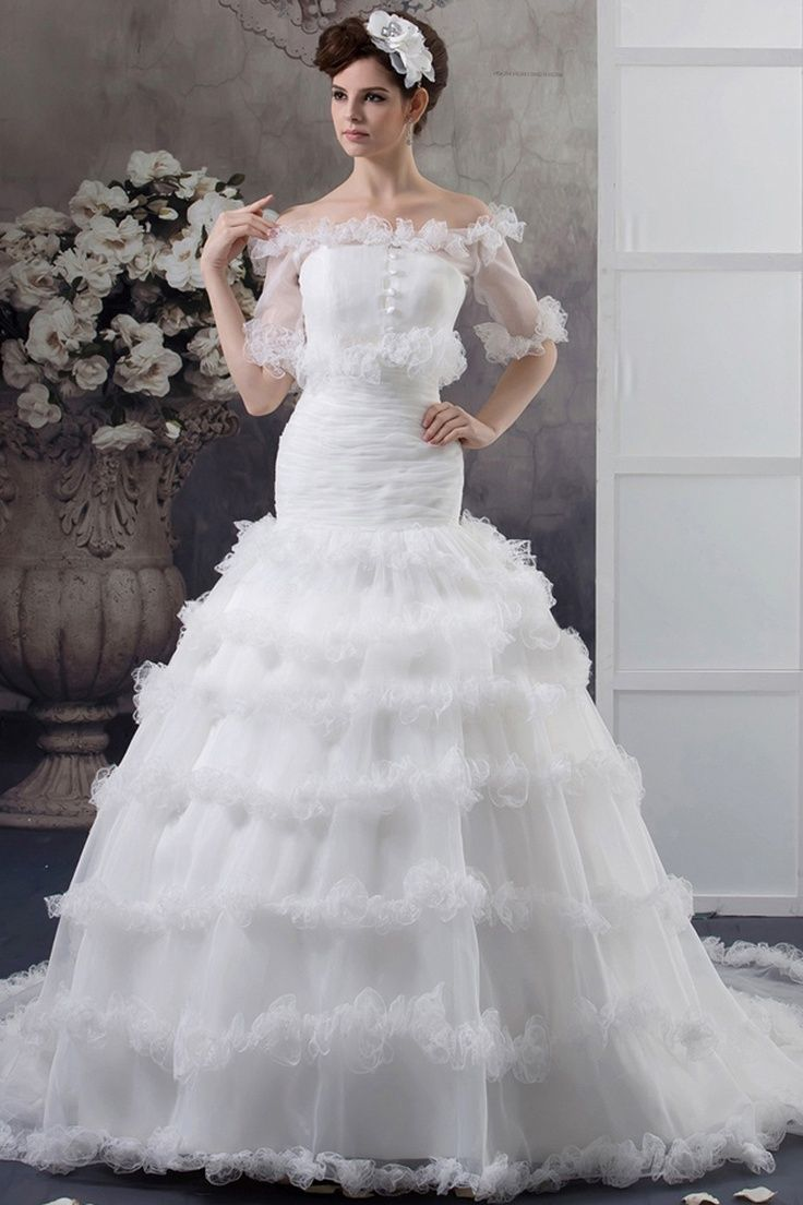 Ugly Wedding Dresses | ugly wedding dress. Not the worst I have seen ...