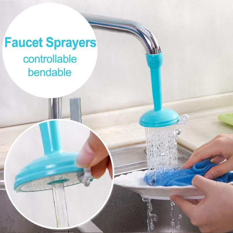 Adjustable Tap Filter Nozzle Faucet Bathroom Accessories Kitchen Creative  Water Saving Type: Kitchen Faucet Accessories