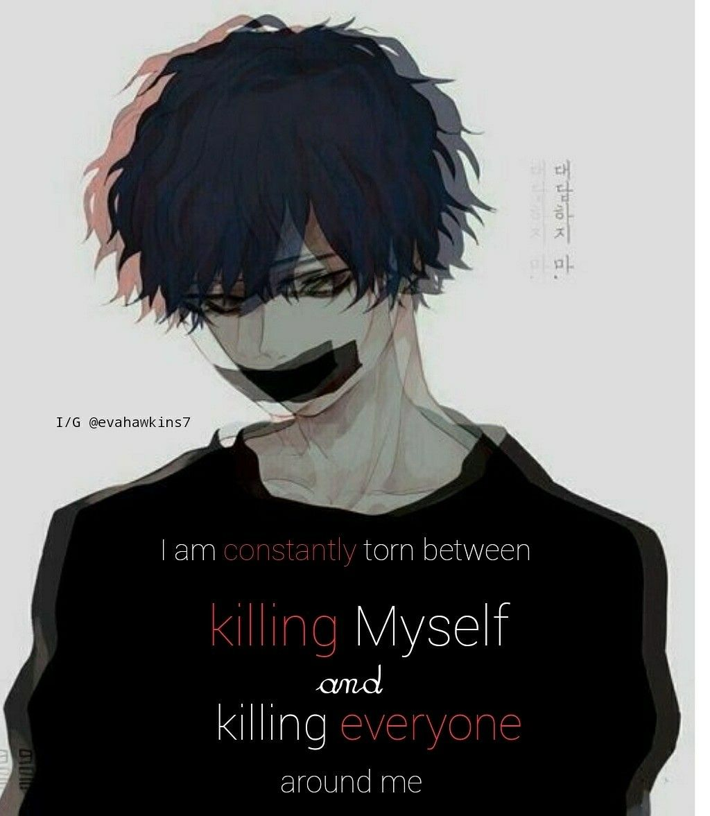 Anime Emo Quotes About Suicide: Pin By Naiara On Sad T Frases Sad And Manga