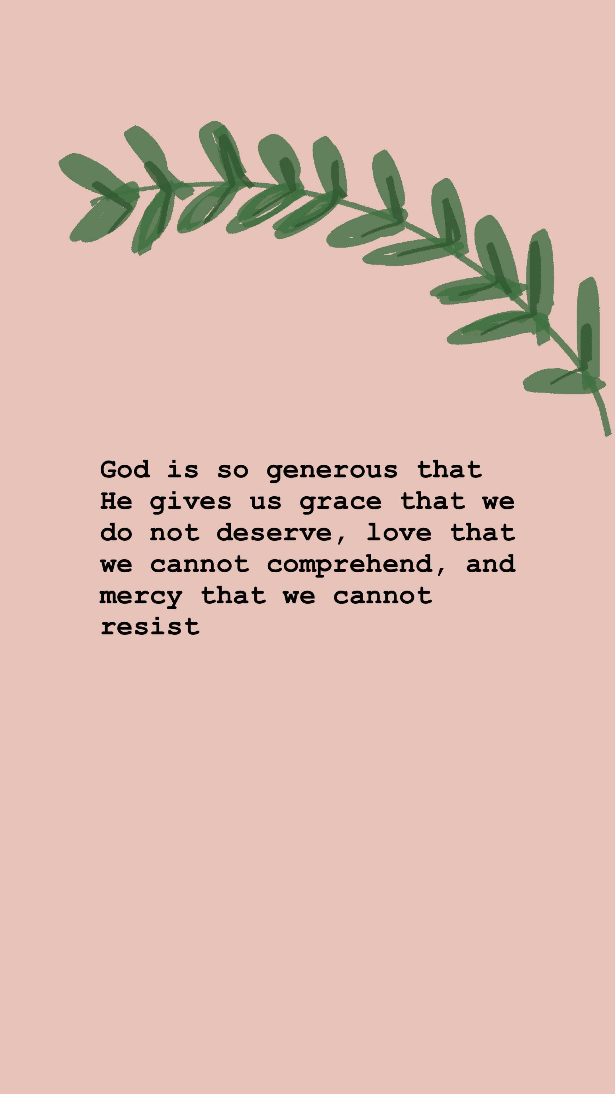 Our King is not only a generous God, but He is a covenant ...