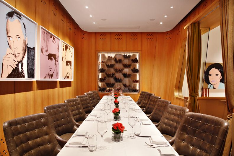 Private Dining Room At Casa Lever