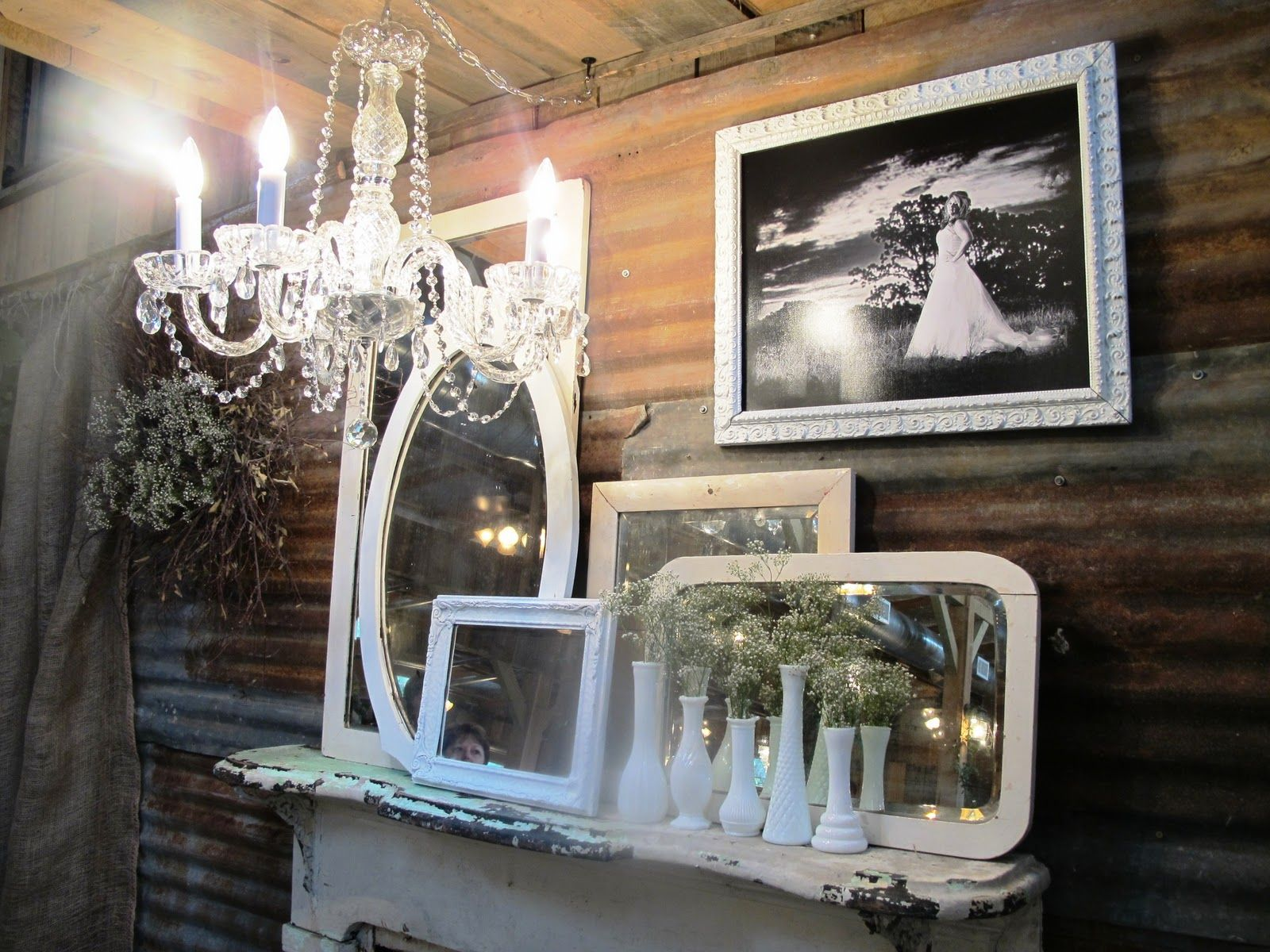 We enjoyed decorating this wedding, One Fine Day who specializes in Vintage Rentals and Wedding Decor.