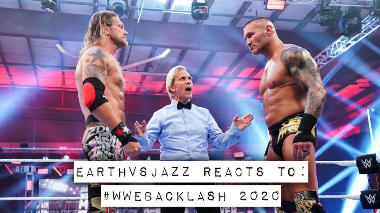 06.14.20 EarthVsJazz Reacts To: #wwebacklash 2020